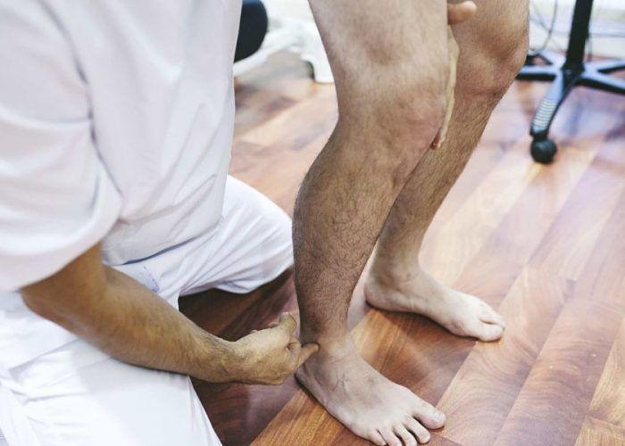 control motor en lesiones de la pierna